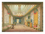 The Corridor or Long Gallery in its Final Phase  from 'Views of the Royal Pavilion  Brighton'