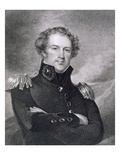Major General Alexander Macomb (1782-1842)  Engraved by James Barton Longacre (1794-1869)