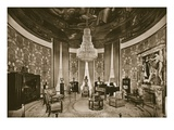 Grand Salon  Designed by Jacques-Emile Ruhlmann  1925 (B/W Photo)