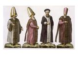 Grand Visir  Caim-Mecam  Reis-Efendi and Khodjakian  Plate 15