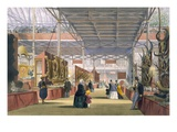 View of the India Section of the Great Exhibition of 1851  from Dickinson's Comprehensive Pictures