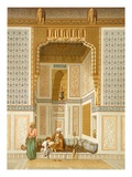 Bordeyny Mosque  Cairo (Colour Litho)