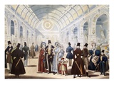 Winter Fashions from Nov 1834 to April 1835  Pub by B Read (Litho)