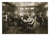 First Class Lounge  Scythia  20th Century (Photo)