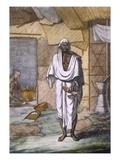 A Cobbler  from 'Les Hindous Ou La Description De Leurs Moeurs Coutumes Et Ceremonies'  Pub 1808-12