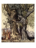 I Am Old Philemon! Murmured the Oak  Illustration from 'A Wonder Book for Girls and Boys'