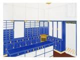 Das Interieur Iv  a Glove Shop  1906 (Colour Litho)