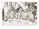 Timoleon in the Syracusan Assembly (Litho)