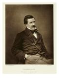 Jules Francois Felix Husson  'Champfleury' (1821-89)  from 'Galerie Contemporaine'  C1874-78