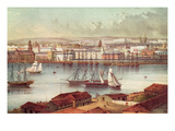 View of Havana  Cuba  Mid-19th Century (Colour Litho)