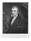 Luther Martin  Engraved by William A Wilmer (C1820-55) (Engraving)