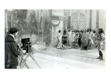 Actors from the Academie and Comedie Francaise Filming the 'Retour D'Ulysse' in 1909 (B/W Photo)