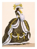 Caramel Dress for Presentation at Court  Engraved by Dupin  Plate No276