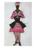 Costume Design for the Indian Bridegroom  from Sleeping Beauty  1921 (Colour Litho)