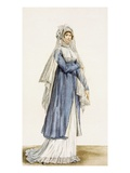 Ladies Day Dress  Plate from From the 'Incroyable Et Merveilleuse'