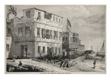 The British and American Consulates  Zanzibar (Litho)