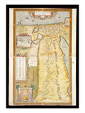Map of Ancient Egypt  1584