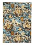 Sixteenth Century Ships  Pub 1933 (Colour Litho)