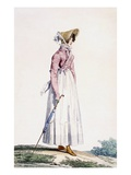 Ladies Summer Dress  Plate from From the 'Incroyable Et Merveilleuse'