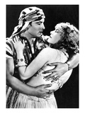 Rudolf Valentino as Ahmed and Vilma Banky as Yasmin in 'son of the Sheik' 1926  C1930 (B/W Photo)