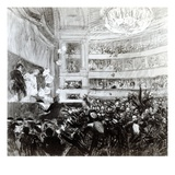 The Battle of Hernani at the Comedie Francaise on the 25th February 1830  1909
