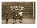 Boys Playing in the East End  from 'Wonderful London'  Published 1926-27 (Photogravure)