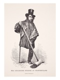 The One-Legged Sweeper at Chancery Lane  from a Photograph