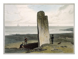 Druidical Stone at Strather Near Barvas  Isle of Lewis