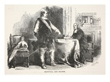Cromwell and Milton (Litho)
