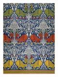 Example of Printed Egyptian Fabric  19th Century (Chromolitho)