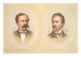 Gustav Nachtigal and Gerard Rohlfs