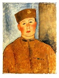 The Zouave  1918 (Oil on Canvas)