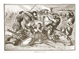 Battle of Cunaxa (Litho)