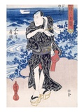 An Actor (Colour Woodblock Print)