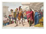 Cadmus Sets Out  Book III  Illustration from Ovid's Metamorphoses  Florence  1832