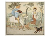 Where are You Going  My Pretty Maid  Illustration from the Milkmaid