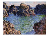 Port-Goulphar  Belle-Ile  Brittany  1886 (Oil on Canvas)