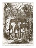 Livingstone's Followers Bringing His Body to the Coast