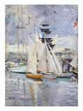 The Harbour  Deauville  Normandy  1912 (Oil on Canvas)