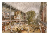 Interior of the Internation Exhibition of 1862 (Colour Litho)