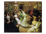 A Flamenco Party at Home  1908 (Oil on Canvas)