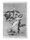 193-0082172 You Will Not Escape  Plate 72 of 'Los Caprichos'  1799 (Etching)