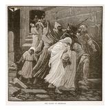 The Flight of Zedekiah (Litho)