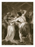 The Collector of the Poll-Tax Murder'D by Wat Tyler  Engraved by J Hall