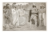 Interview Between Agesilaus and Pharnabazus (Litho)