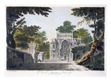 View of a Mosque at Chunar Gur  1786 (Aquatint)
