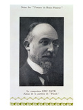 Eric Satie (1866-1925)  French Composer  Portrait Photograph (B/W Photo)