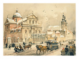 Church of Ss Peter and Paul  Krakow  from 'Klejnoty Miasta Krakowa'  Published 1899 (Colour Litho)