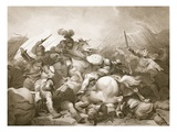 Battle of Bosworth Field  Engraved by J Thomson