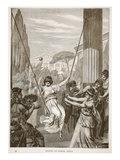 Sports of Greek Girls (Litho)